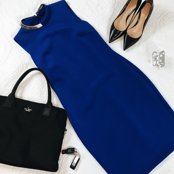 Calvin Klein Dresses & Skirts - Royal Blue Calvin Klein Midi Dress Size 6